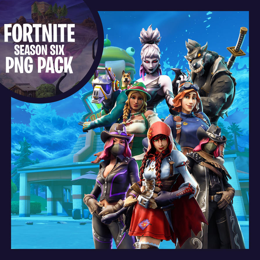 Fortnite Season Six Png Pack By Thewhovianartist