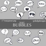 text Bubbles png's