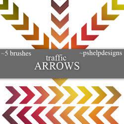 traffic arrows