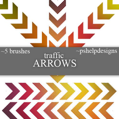 traffic arrows by pshelpdesigns