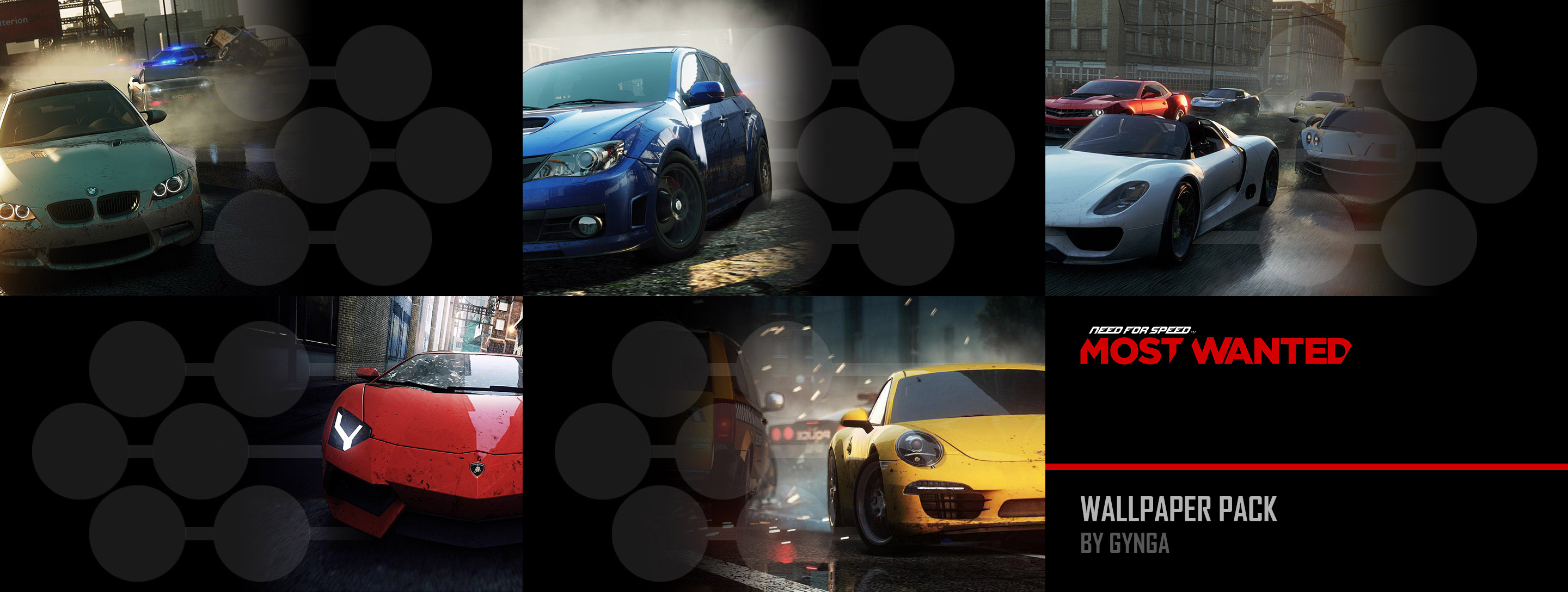 Need For Speed Most Wanted Ps Vita Wallpaper Pack By Gynga