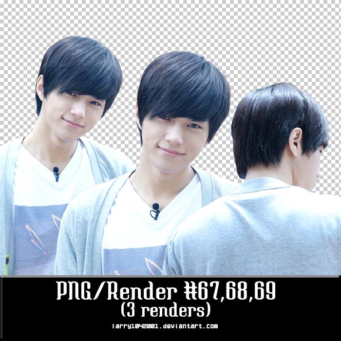{PNG/Render #67,68,69} Myung Soo (Infinite) by larry1042001