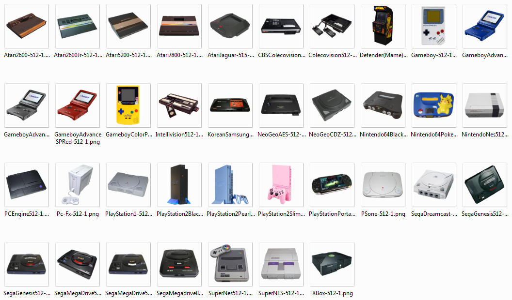 Special Big Png Console Icons By Pixeloz On Deviantart