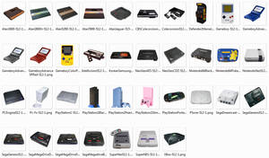 Special Big Png Console Icons by PixelOz