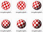 Amiga Boing Ball Icons Set