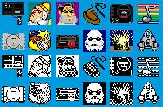 Pixelart Style 12 Icons Set by PixelOz