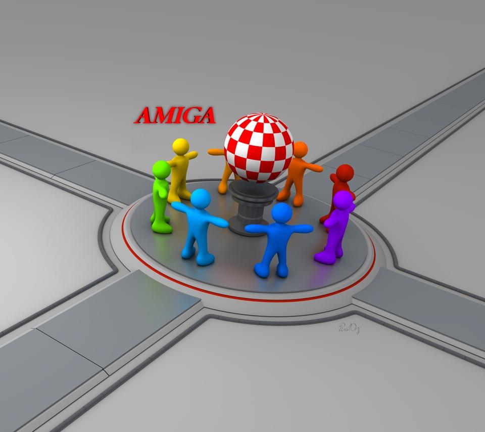 Rainbow People Amiga Wallp. 1 Ver 1.1 For Portable