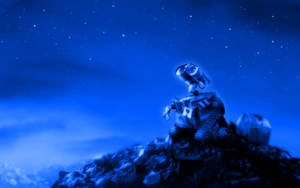 Wall-E Looking At The Stars 1 by PixelOz