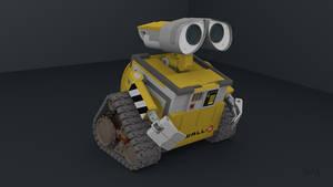 Wall-E Blender 3D Models