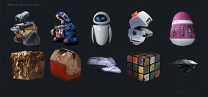 Wall-E Icons Set 2