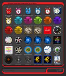 Alwact Clock Skin Mega Pack of 36 Skins Volume 1 by PixelOz