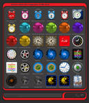 Alwact Clock Skin Mega Pack of 36 Skins Volume 1