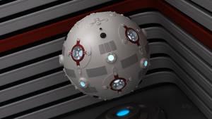 Star Wars Jedi Training Remote Blender 3D Model 2