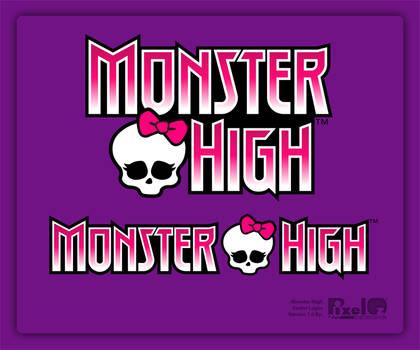 Monster High Free Vector Logo