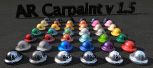 Car paint for Advanced Render