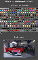 Car Paint 3 for Advanced Render/Physical
