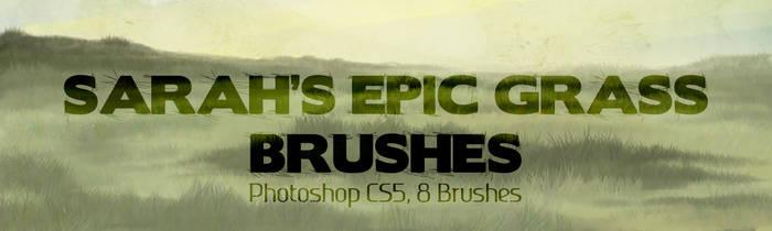 Sarah's Epic Grass Brushes 2013