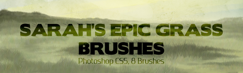 Sarah's Epic Grass Brushes 2013 by SarahScala