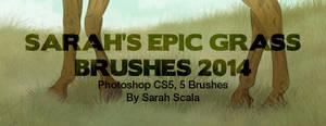 Sarah's Epic Grass Brushes 2014