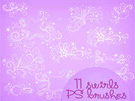 Swirls Brushes by notasinglesong