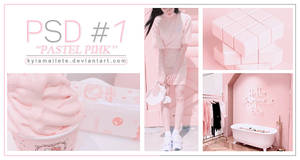 [PSD CLR#1] Pastel Pink