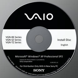 Sony Vaio Recover DVD + PSD by v1t0rSouz4