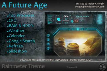 Rainmeter Theme - A Future Age