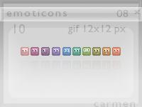 Emoticons 08 by helca-k