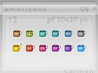 Emoticons 09 by helca-k
