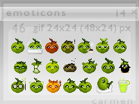 Emoticons 14 by helca-k