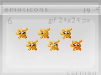 Emoticons 19 by helca-k