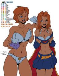 Powergirl Supergirl FLATS
