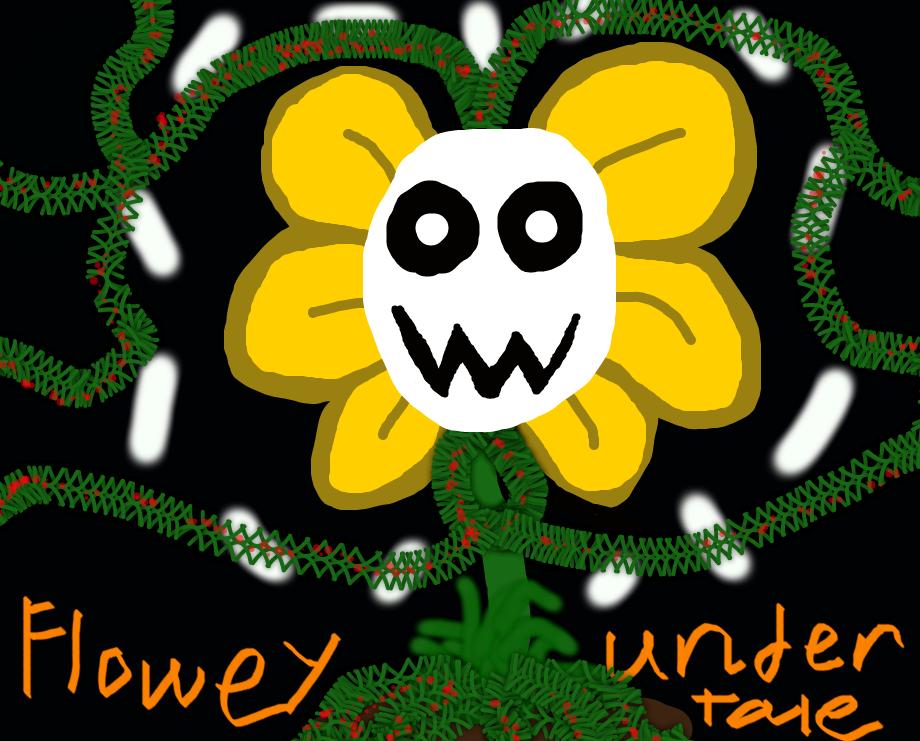 Flowey (Undertale) Doodle :T By DreamDragon625 On DeviantArt