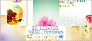 20 100x100 MISC TEXTURES