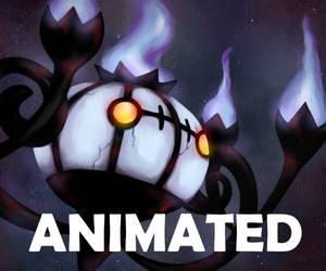 Chandelure - animated by LacernellaRubra