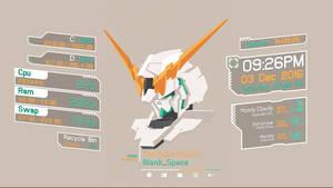 Gundam Unicorn Rainmeter