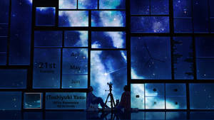 Starry Window Rainmeter