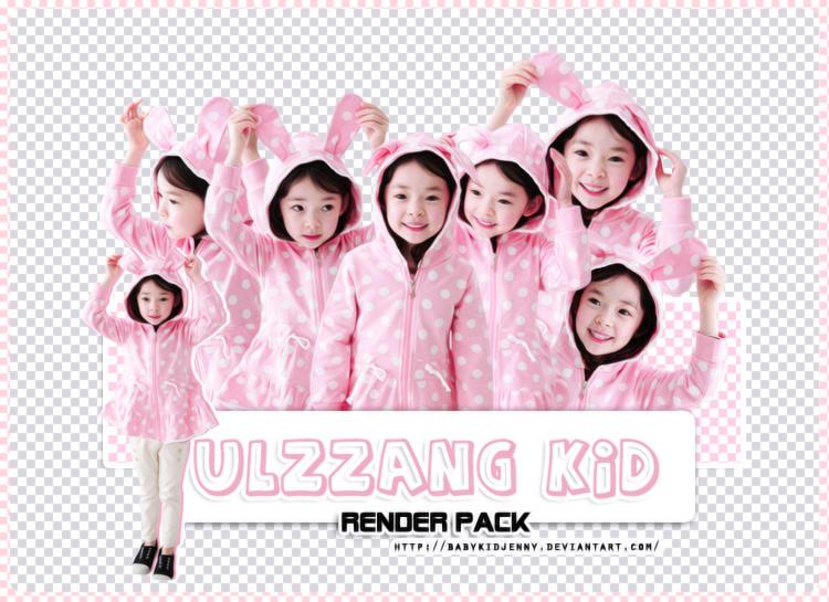 [RENDER-PACK#013] Ulzzang Kid by babykidjenny