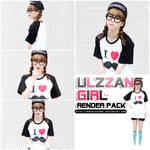 [RENDER-PACK#023] Ulzzang Girl