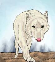 White Wolf by ColdenVeins