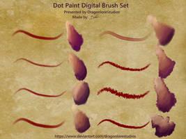 P2U: Fire Alpaca Dot Paint Brush pack