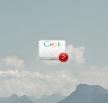 Gmail Conky by Bliezkrieg