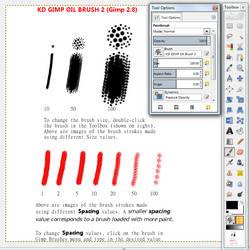KD's Gimp Oil Brush2 (for GIMP 2.8)