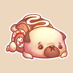 Puppycakes: Tiramisu Roll