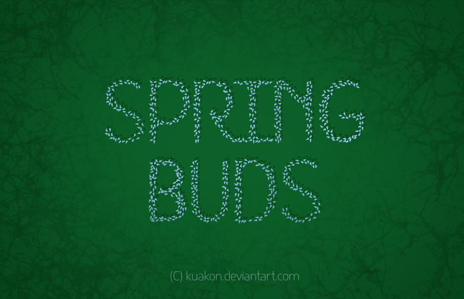 Font HKH Spring Buds - Regular and Italic Version by Poemhaiku