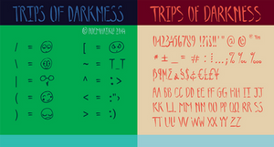 Trips of Darkness Font