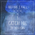 Horror Font | Before I Fall by Poemhaiku