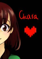 [GIF] [Fanart] Undertale: Chara by TheTimeLimit