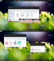 Theme For IconPackager PinkWhite Cute by PiitufiitoGrr