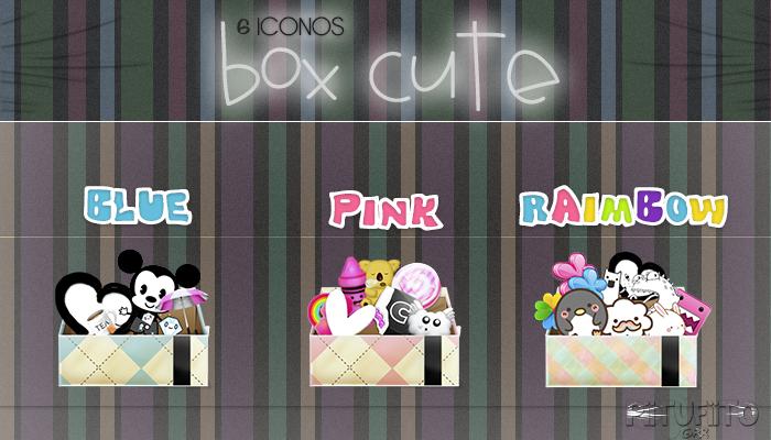 Iconos Box Cute By PiitufiitoGrr by PiitufiitoGrr